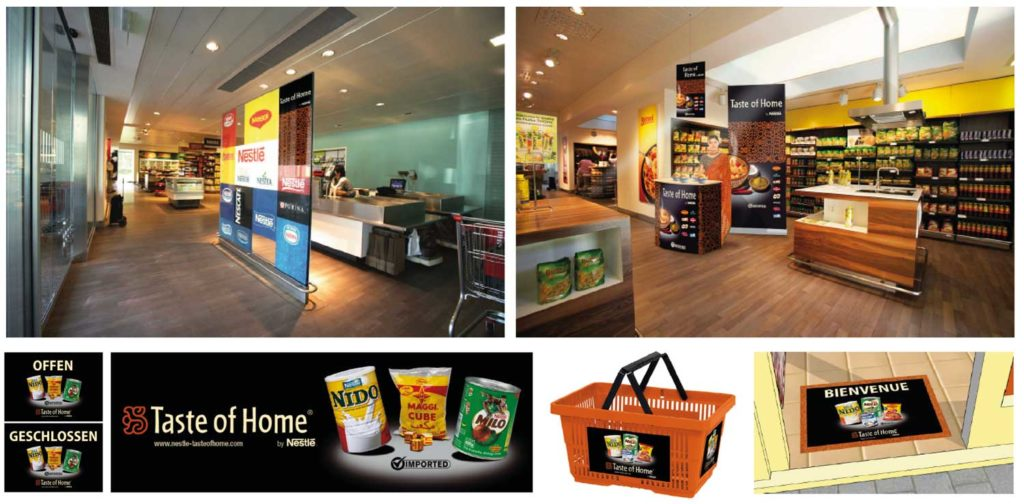 magasin Taste of home by Nestlé