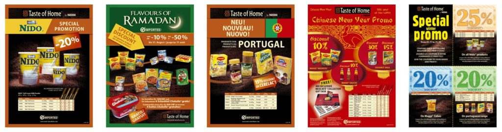 Taste of home by Nestlé - annonces