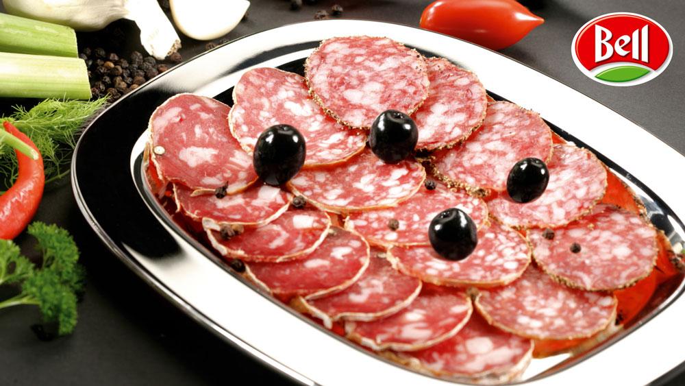 Photo culinaire Enrico Pestalozzi Salami Bell