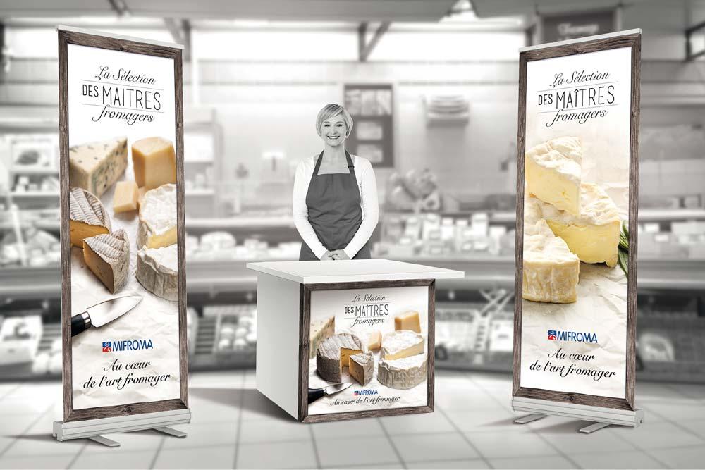 Une nouvelle ligne de fromages pour la gastronomie