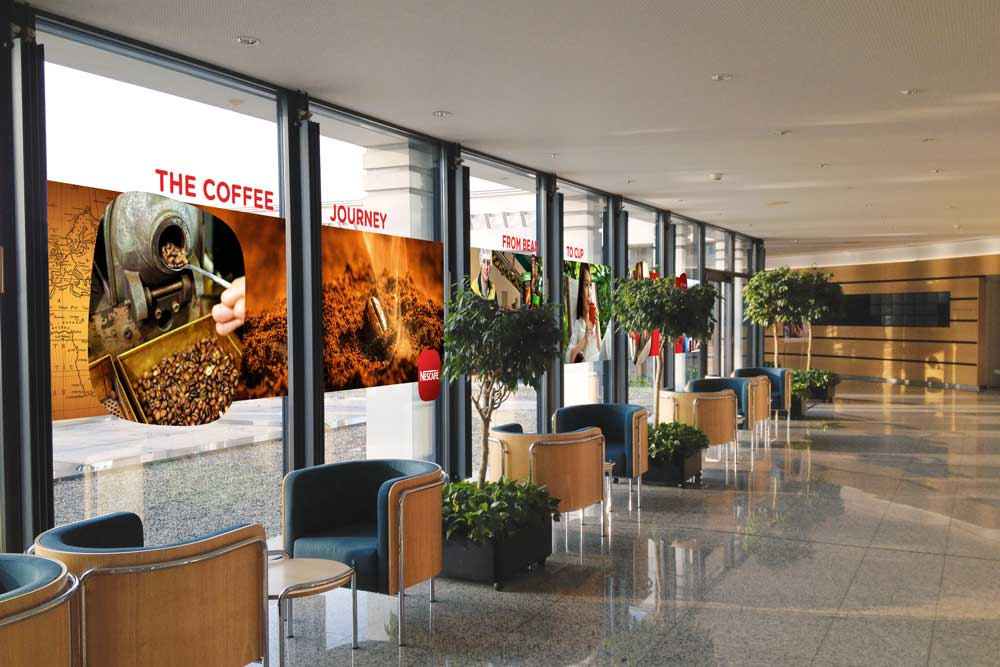 agence de graphic design - graphisme - graphiste - Conférence Nestlé à Rive Reine
