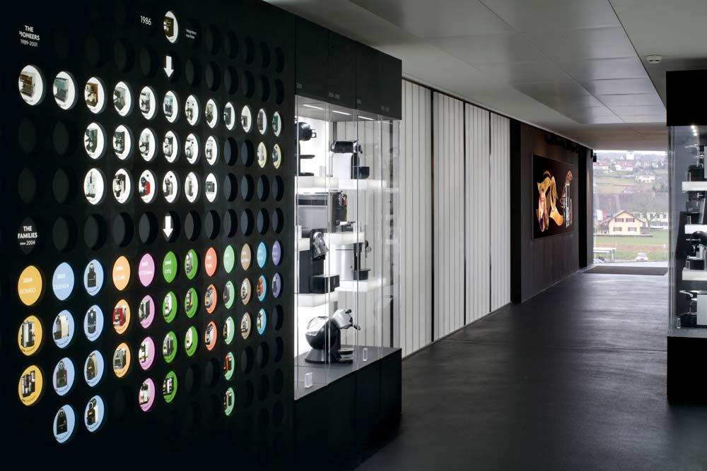 agence de graphic design - graphisme - graphiste - Nestlé STC Hall of fame