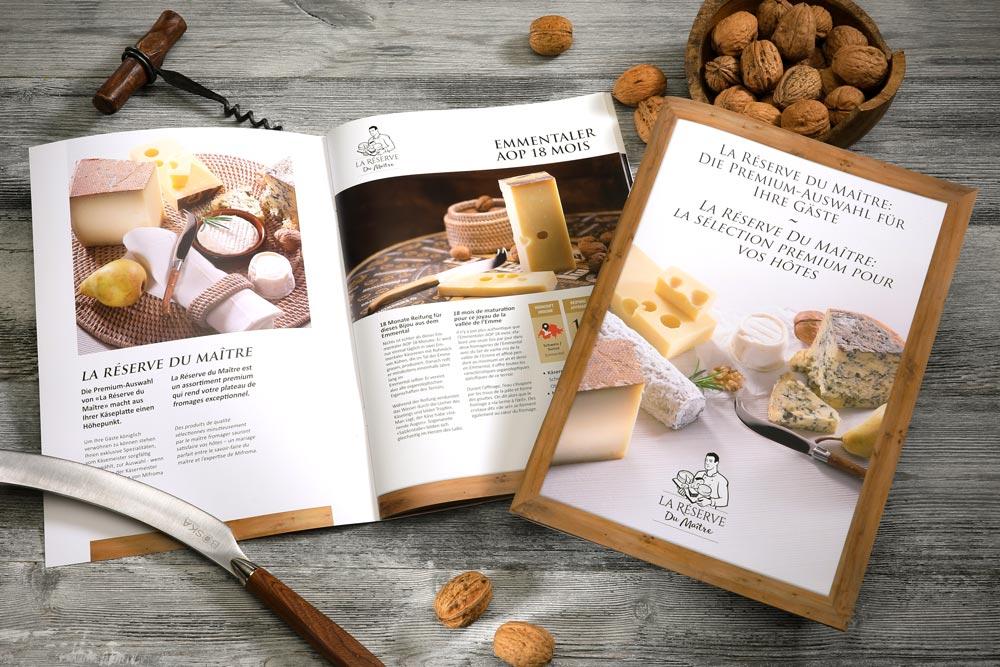 Une nouvelle ligne de fromages pour la gastronomie Mifroma