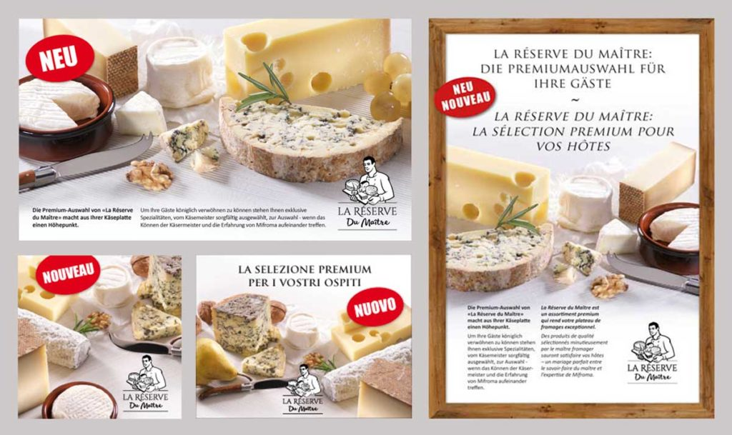 Pub web fromages migros